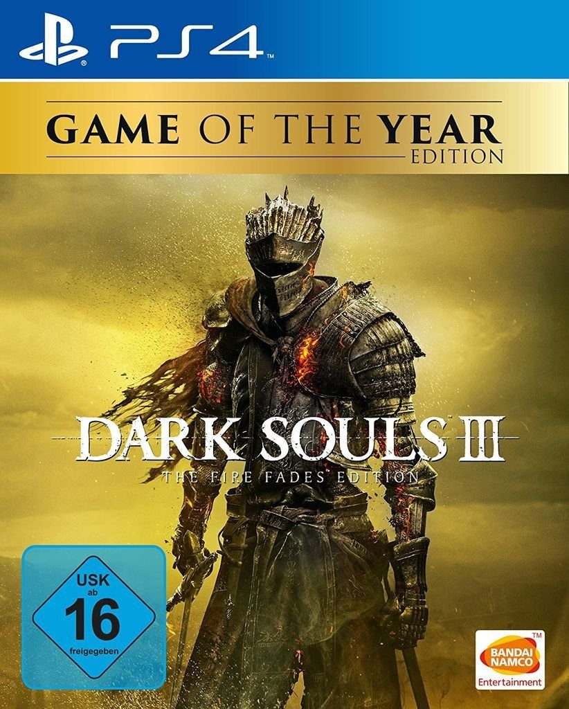 Bandai Playstation 4 - Spiel »Dark Souls 3 - The Fire Fades Edition«